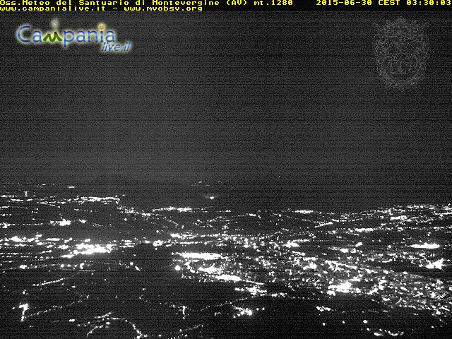 webcam montevergine